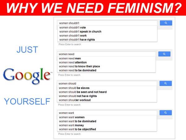 feminizam je uništio upoznavanje