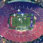 University of California, The Rose Bowl - 91 500 sjedala