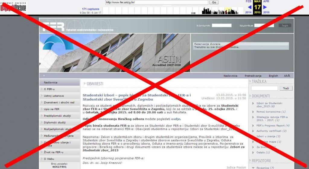 Web stranica za upoznavanje web dizajnera