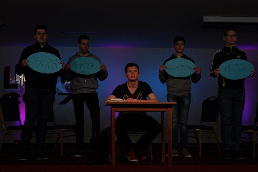 Predstava Viktor foto:Ivan Božić|srednja.hr