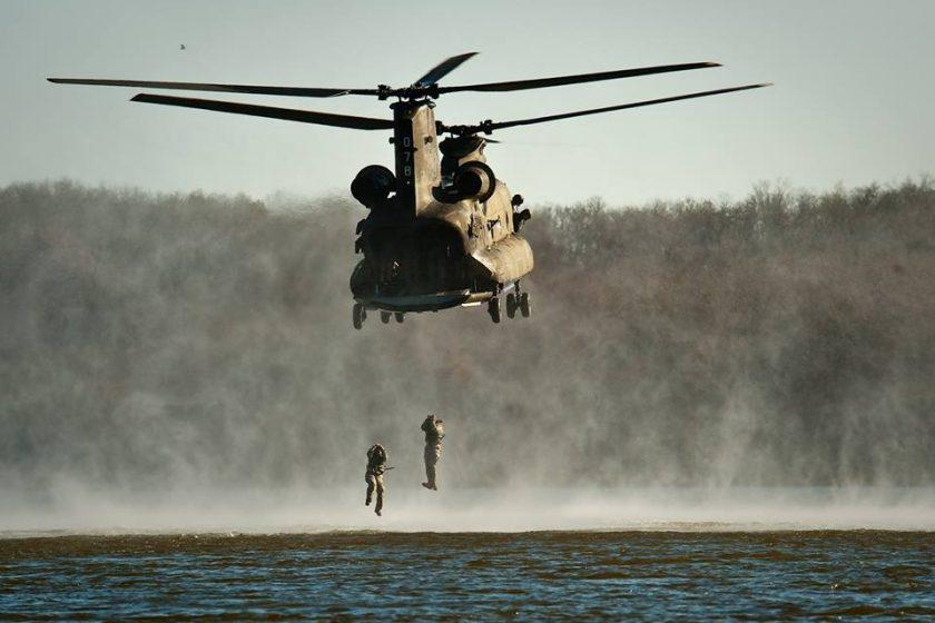 vojska helikopter