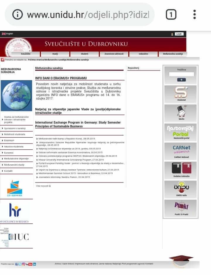 crno-bijela web stranica za upoznavanje