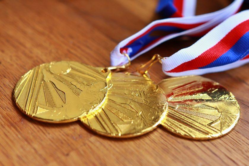 zlatna medalja zlato