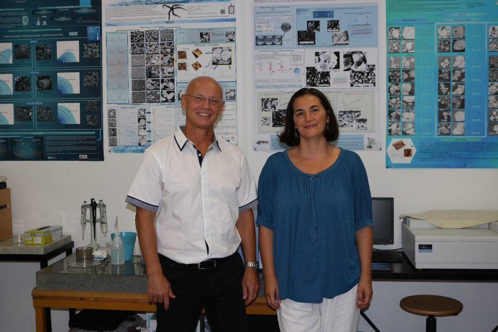 dr. sc. Branka Njegić Džakula i dr. sc. Damir Kralj | foto: Institut Ruđer Bošković