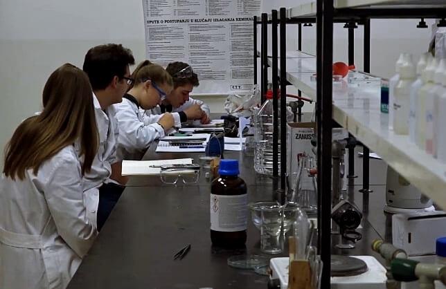 kemija, stranica za pregled upoznavanja