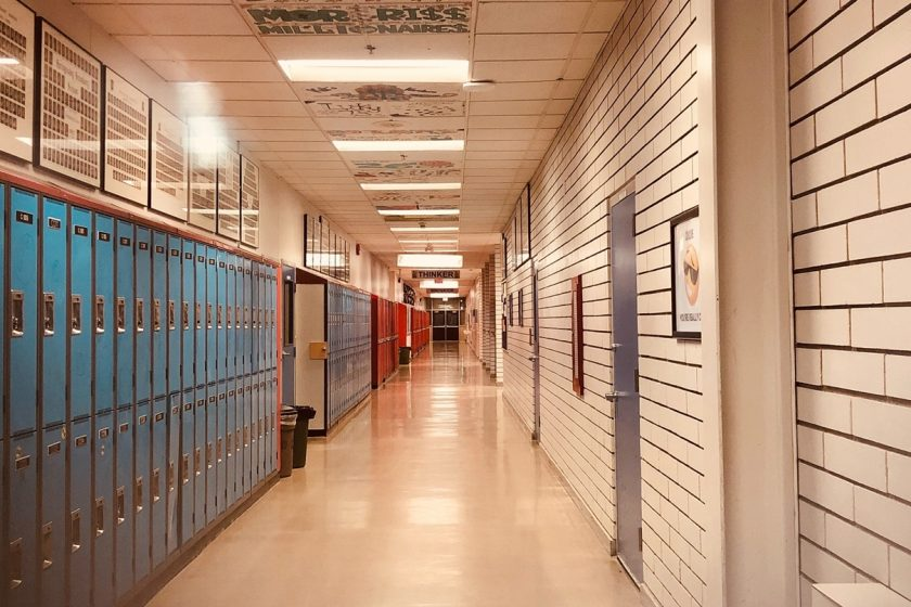 školski hodnik