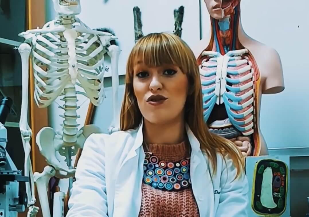 Nastavnica biologije Sabina Dumpor