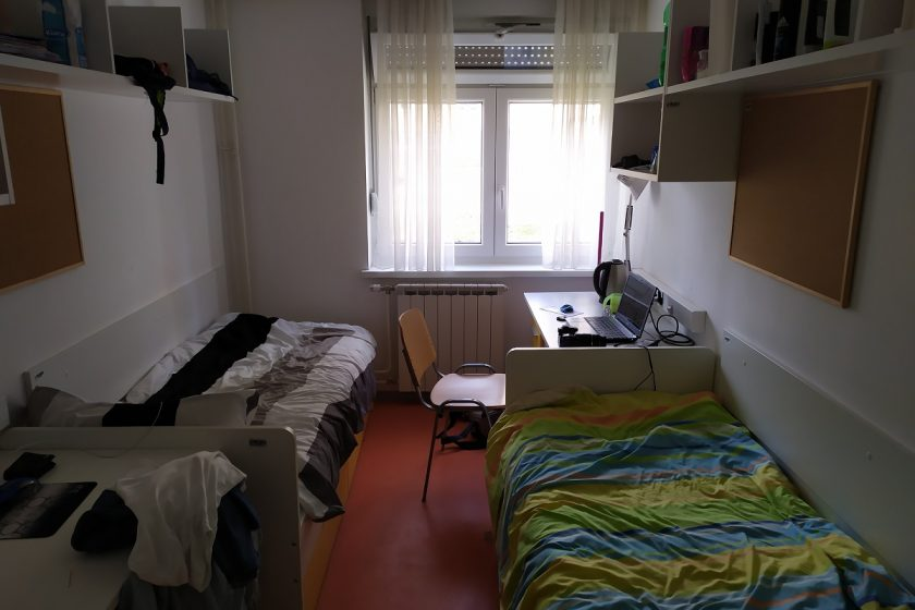 Soba u domu Stjepan Radić na Savi