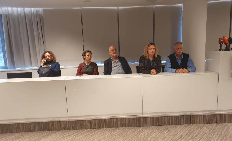 sindikalisti koji su vodili štrajk 2019.