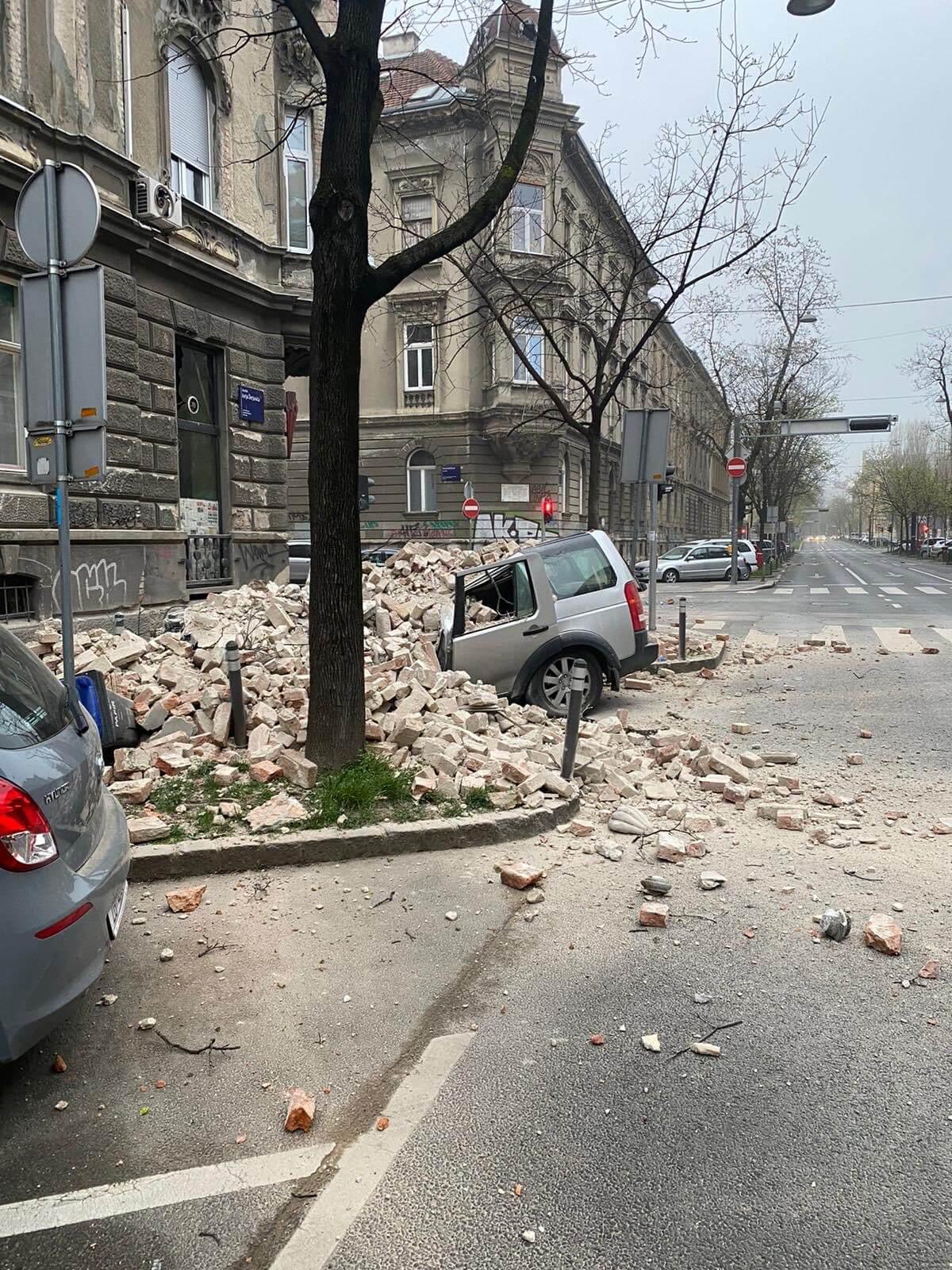 Zagreb Probudili Potresi 15 Ogodisnje Dijete Nije Mrtvo