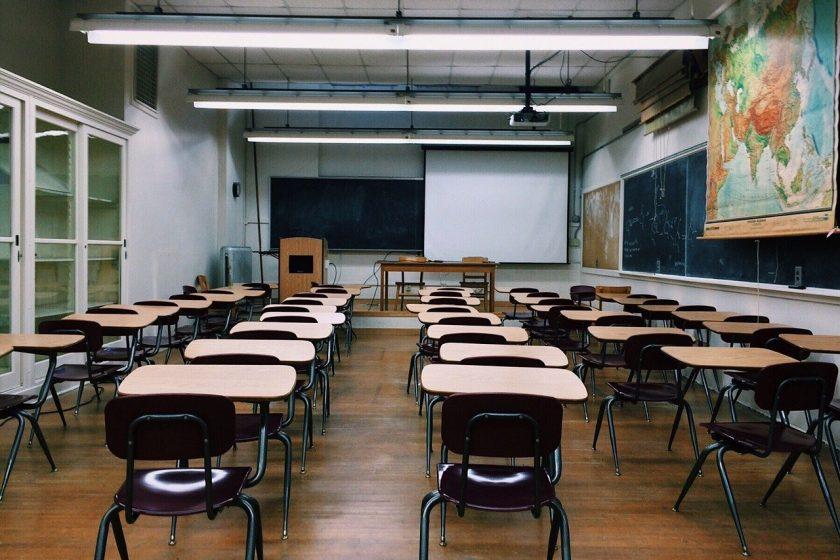 razred učionica škola