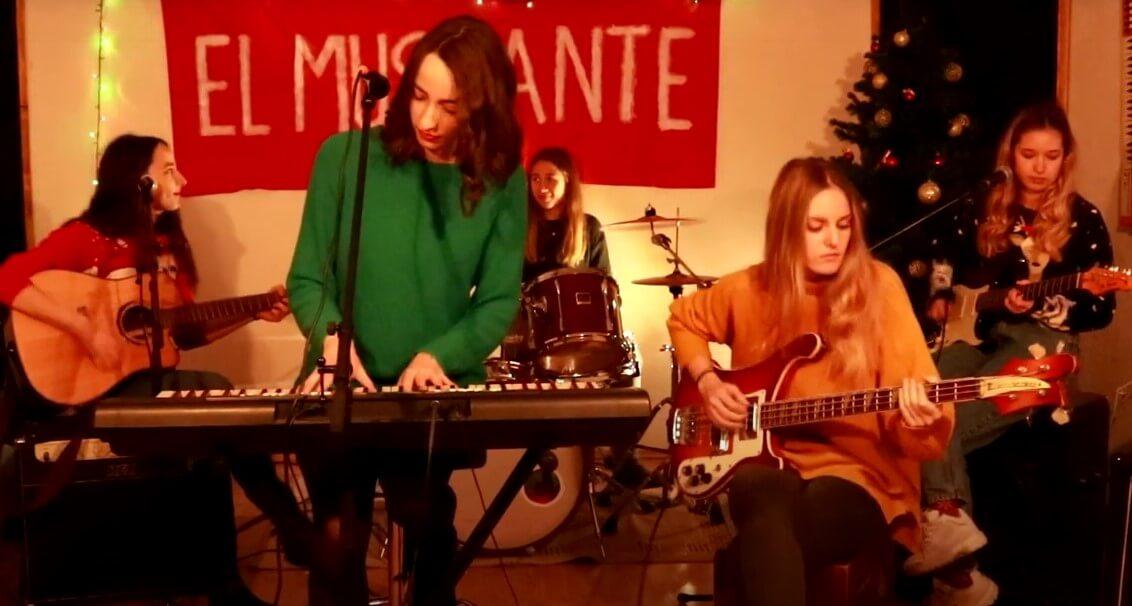 božićni el bend, sanjala sam božić