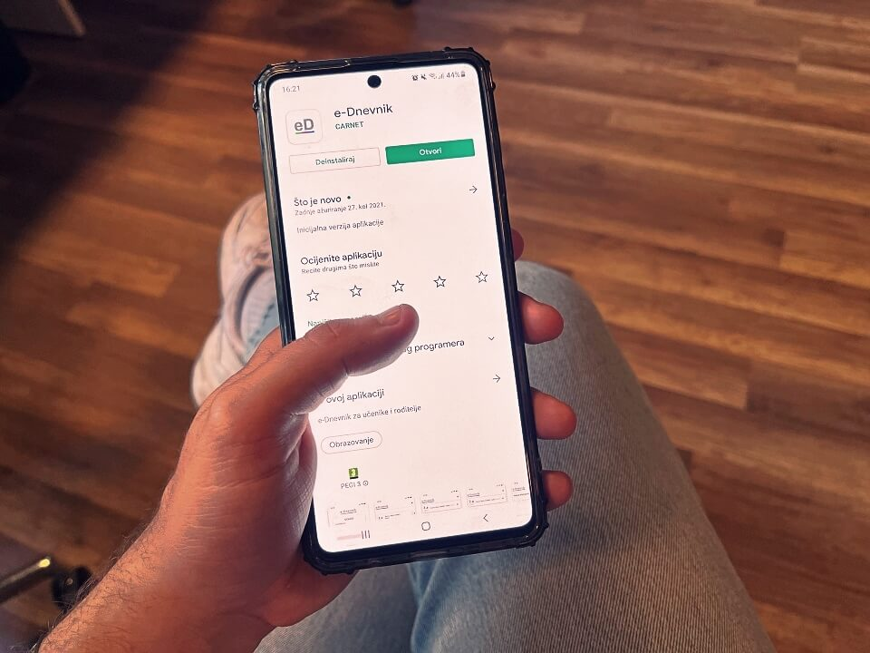 e-dnevnik nova aplikacija