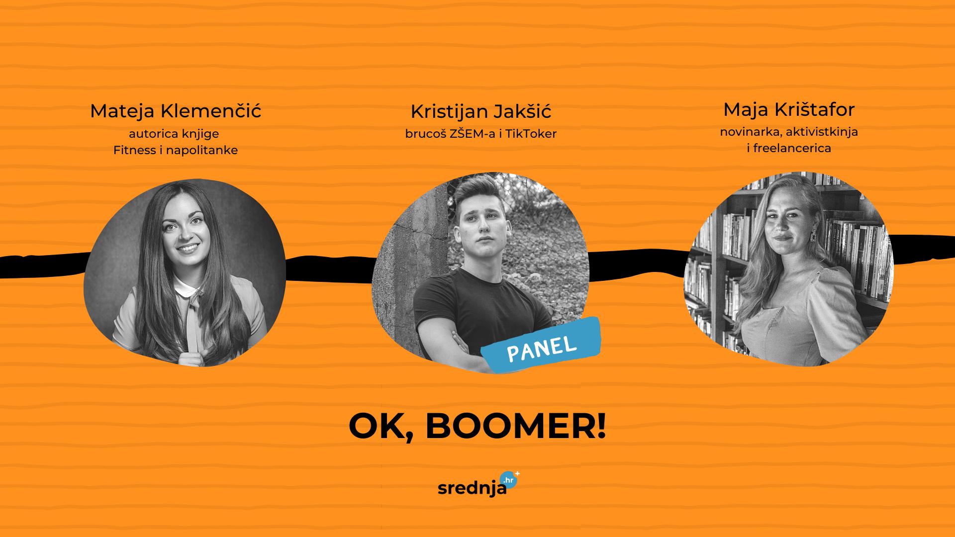 ok boomer panel konferencija srednjahr